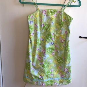 Lilly Pulitzer Guava Green Twist Dress - 10